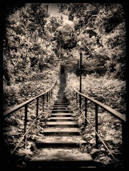 staircase to nowhere by MadeOfSun