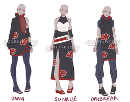 Akatsuki Outfit Adopts PRICE REDUCTION (OPEN) by HONEYxPOISON