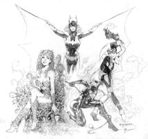DC girls by MMontiel