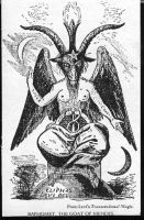 Vintage Baphomet Illustration by HauntingVisionsStock