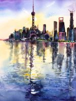 Shanghai Dawn by NeoNative