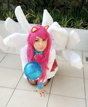 League of Legends - Academy Ahri Cosplay by Fer-cosplay