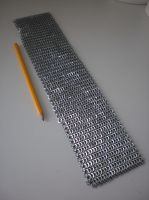 Fine metal chain mail project by Gruntoks