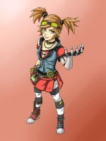 Gaige the Mechromancer by Katema-974