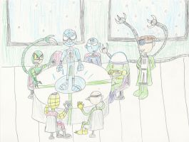 Meeting of the Sinister Six by mastergamer20
