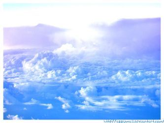 My head between the clouds by azzumail