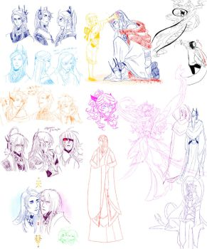 daily doodle collection by Autumn123Charlotte