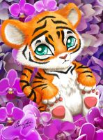 Little Tiger by LMColver