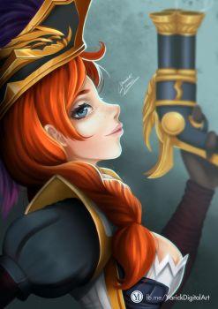 Captain Fortune by YarickArt