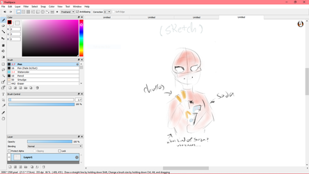 W.I.P/Sketch/Concept thingy~ by Tokyoflower