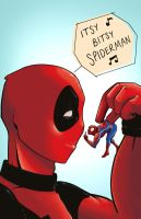 Itsy Bitsy Spiderman by ShayleaGallagher