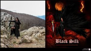 Black Silk- Photo VS design (cut) by R1Design