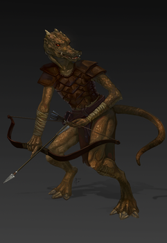 Kobold by DashaFid