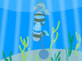 Kafuru takes the plunge by SuperTailsHero