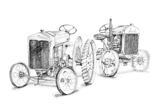 Tractor III by IBBK