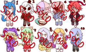 Adoptables [Closed] by ValetsSing