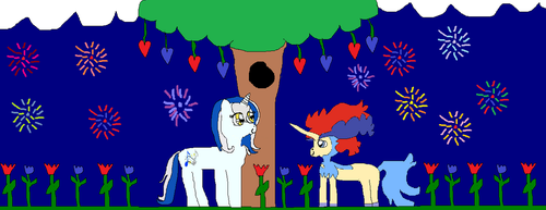happy 4 of july  to you too lovy ponys by biancaroseg