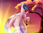 (Gift) Hanging Lights by VDragon-Creations