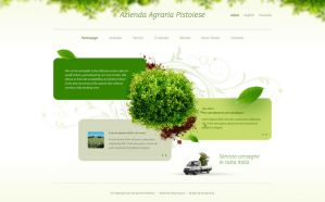 Agraria pistoiese website by luqa