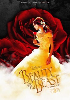 Beauty and the Beast 2017 - Poster by Graphuss