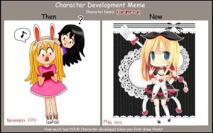 Character Development meme by hanahello