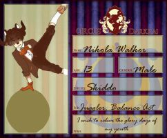 Nikola Walker CD App by stargazingdreamer