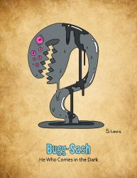 Bugg-Sash - He Who Comes in the Dark by StephenLewisArt