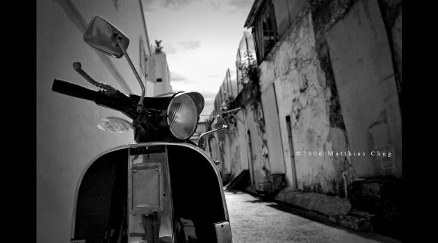 Vespa BW Sequel by asianrabbit