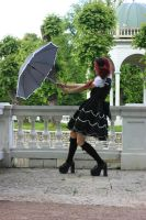Gothic Lolita 2 by Kechake-stock