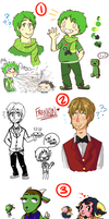Art Dump of many things by Tokiball12345