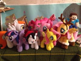 Pony Chaos! by My-Little-Plush