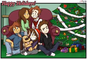 Happy Holidays! 2015 by LilBruno