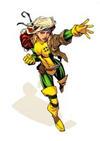 Rogue by RandyGreen Colors by Danimation2001 by danimation2001