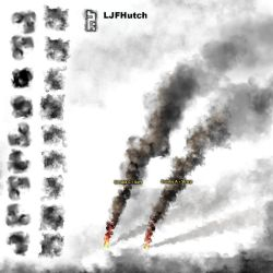 Gimp Smoke  Brushes - Animated by LJFHutch