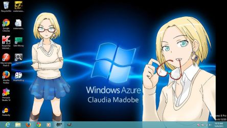 Claudia Madobe Desktop by NeoSwordsmanZ