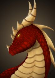 Red Dragon Champion by Aileara