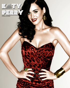 Colorize Katy Perry by 23Dvalin