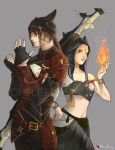 FFXIV Commission : Miqo'te Duo by Milee-Design