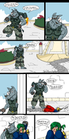 PLANET AFL ROUND 2: Captain Mc Gray Page 1 by SHITFORBRAINSCHAN
