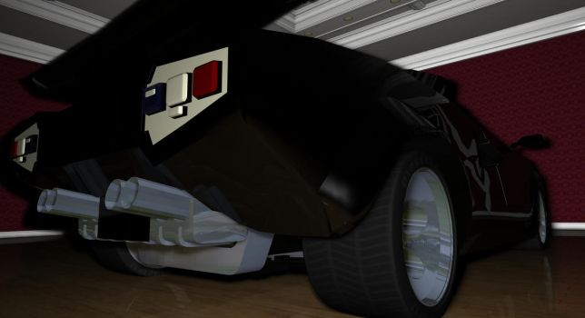 Lamborghini Countach-2 by TheRedCrown