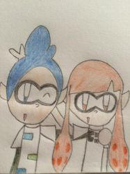 Mitm Characters-Melanie and Daniel by MeleeInTheMiddle