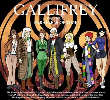 Gallifrey Parallels of Time by Inspector97