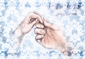 I Want to Hold Your Hand by Jullelin