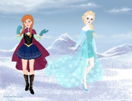 Frozen Sailor Moon by Yandere-ChanKawaii13