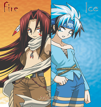 Fire and Ice by Miss-K