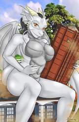 YCH Commission - (Enalys) by UkyoDragoon