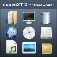 nuoveXT 2 for IconTweaker by anthonium