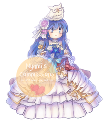 [Commission] Caeda: Talys's Bride by Nyamuh