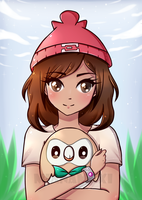 Little Rowlet :.Pokemon Sun and Moon.: