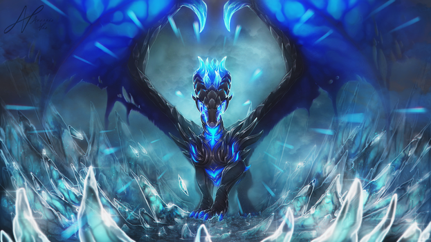 Verad the King of Freeze by AverrisVis